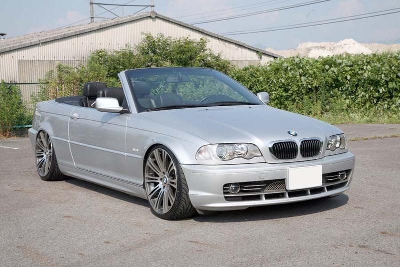 BMW 3シリーズ E46 シャーゼン車高調 装着事例01   BMW 3シリーズ E46 カブ
